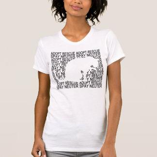 T-shirt La délivrance de chat de Greyfoot adoptent la
