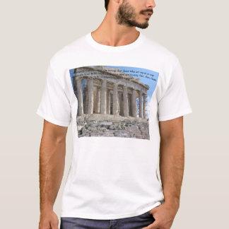 T-shirt La démocratie provient de la notion….