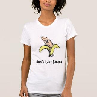 T-shirt La dernière banane d'Anna