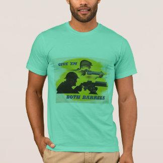 T-shirt La deuxième guerre mondiale de les deux barils
