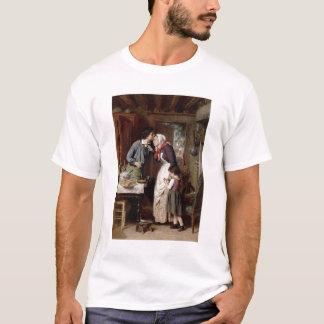 T-shirt La dévotion d'un fils, 1868 (huile sur la toile)