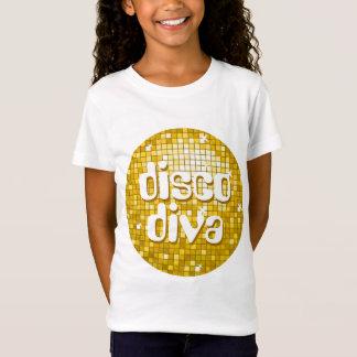 """T-Shirt La disco couvre de tuiles des filles de """"diva de"""