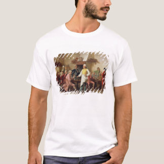 T-shirt La discussion d'un monsieur, 1881 (huile sur le