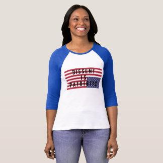 T-shirt La dissidence est chemise patriotique