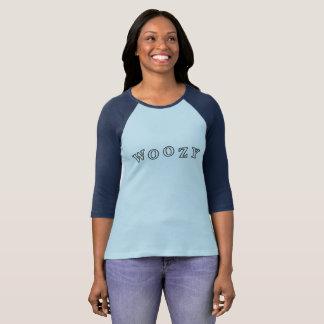 T-shirt La douille raglane des femmes hébétées