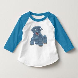 T-shirt La dunette I aiment un éléphant (l'enfant en bas