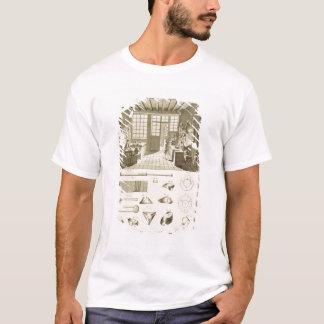 T-shirt La fabrication des casquettes et des conceptions