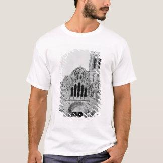 T-shirt La façade de La Madeleine de Vezelay