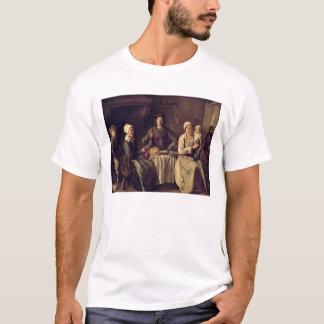 T-shirt La famille rurale, 1642 (huile sur la toile)