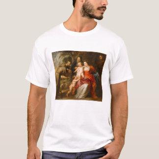 T-shirt La famille sainte avec des saints