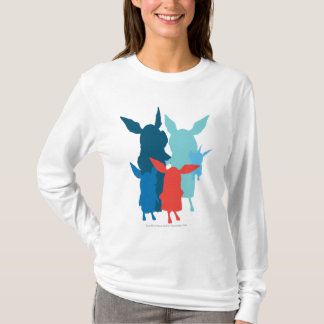 T-shirt La famille - silhouette
