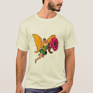 T-shirt La fée à la rose
