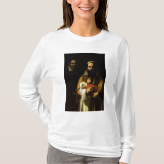 T-shirt La femme barbue allaitant, 1631