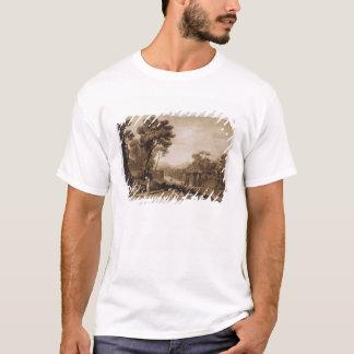 T-shirt La femme et le tambour de basque, gravés à tour de