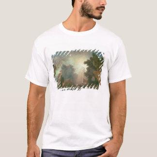 T-shirt La fête au Saint-Nuage (huile sur la toile) (pour