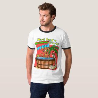T-shirt La fête de Noël du chien fou