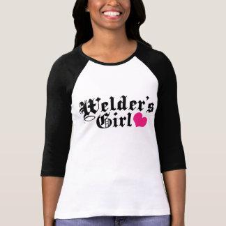 T-shirt La fille de la soudeuse