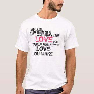 T-shirt La fin