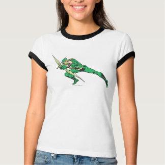 T-shirt La flèche verte se tapit