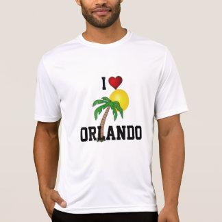 T-shirt La Floride : J'aime le palmier et le soleil