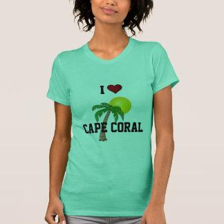 T-shirt La Floride : J'aime le palmier et le soleil de
