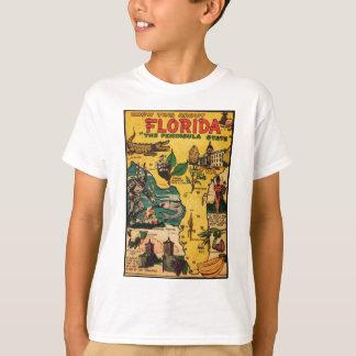 T-shirt La Floride l'état de péninsule