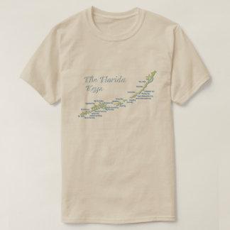 T-shirt La Floride verrouille la carte