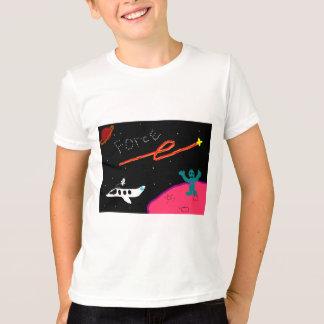 T-shirt La force de planète badine la chemise