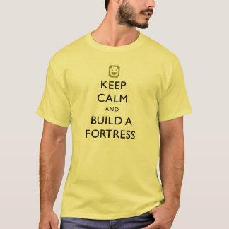 T-shirt La forteresse naine gardent le calme et