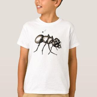 """T-shirt La fourmi de guerrier du """"petit monde"""" badine le"""