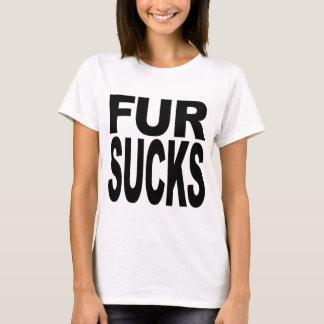 T-shirt La fourrure suce