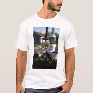 T-shirt La France, Bourgogne, Chablis. Vin du pays et