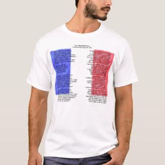 T-shirt La France - La Marseillaise