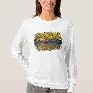 T-shirt La France, le Rhône, près d'Avignon, péniche le