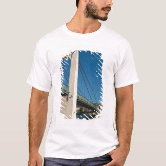 T-shirt La France, Rhône-Alpes, Condrieu, pont à travers