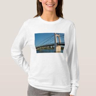 T-shirt La France, Rhône-Alpes, Condrieu, pont à travers 2