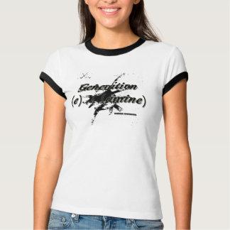 T-shirt La GEN X proclament ! Pièce en t