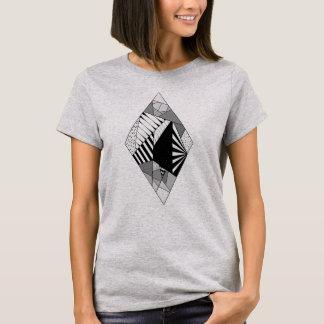 T-shirt La géométrie pastille