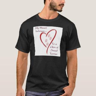T-shirt La gorge du coeur d'Imaal Terrier appartient