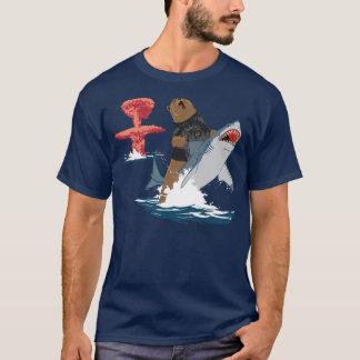 T-shirt La grande évasion - cavalerie de requin d'ours