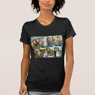 T-shirt La grande fonte de Gildersleeve !