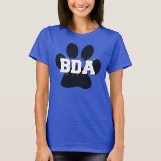 T-shirt La grande patte, chiens vilains d'I <3 soutiennent