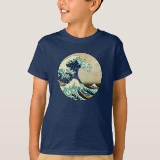 T-shirt La grande vague