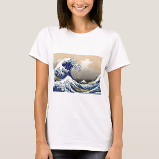T-shirt La grande vague outre de Kanagawa