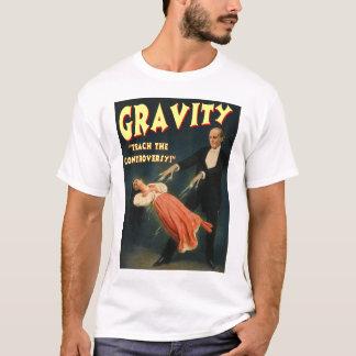 T-shirt La gravité enseignent la polémique
