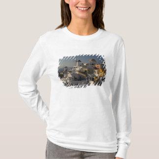 T-shirt La Grèce et l'île grecque de la ville de Santorini