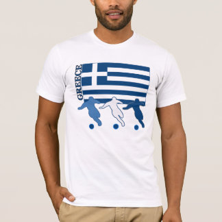 T-shirt La Grèce - footballeurs
