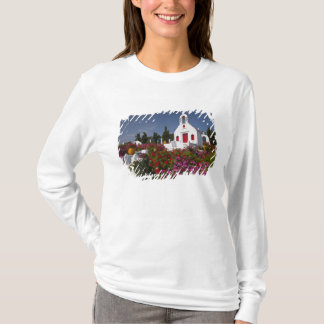 T-shirt La Grèce, Mykonos, petite chapelle mignonne dans