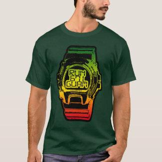 T-shirt La GUAM COURENT la montre de choc de Reggea de