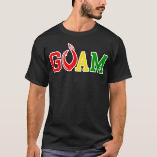 T-shirt La GUAM COURENT le crochet de reggae de 671 îles